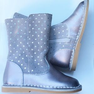 Livie & Luca Silver Star Boots